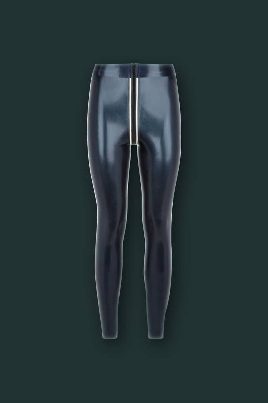 B231 LATEX MILITARY LEGGINGS