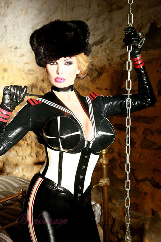 Latex Sailor Jacket