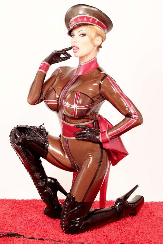 Military Latex Rubber Catsuit